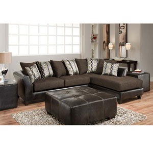 Rip Sable Chenille Sectional