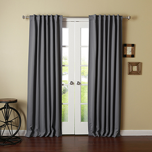 Dark Grey 120 x 52 In. Curtain Panel