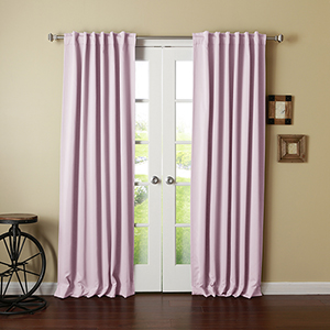 Light Pink 108 x 52 In. Curtain Panel