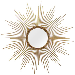 Andrea Gold Wall Mirror
