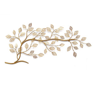 Gold Tree Branch Wall Decor