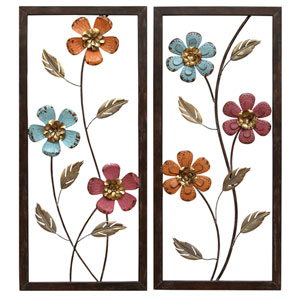 Floral Panel Wall Decor
