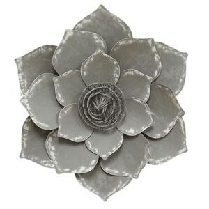 Grey Lotus Wall Decor
