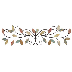 Wood Leaves Over The Door Wall Decor