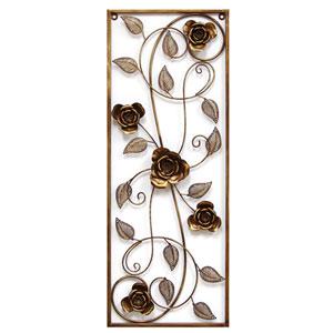Cascading Rose Panel