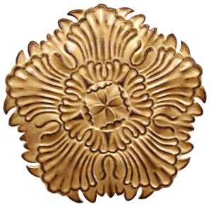 Antique Gold Medallion Wall Decor