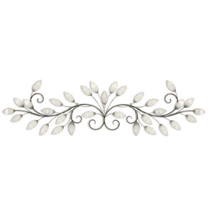 Brushed Pearl Over The Door Wall Decor