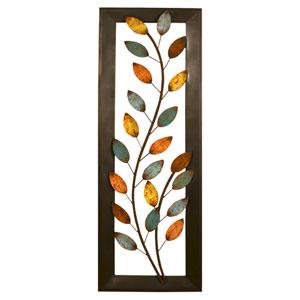 Winding Leaves Panel Wall Decor