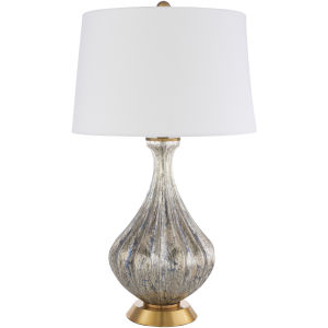 Abram Gold 16-Inch One-Light Table Lamp