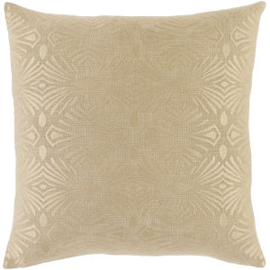 Accra Khaki 18-Inch Throw Pillow