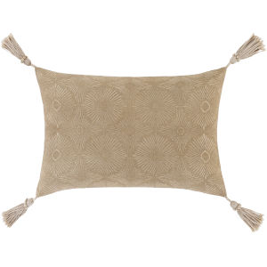 Accra Khaki 13-Inch Throw Pillow