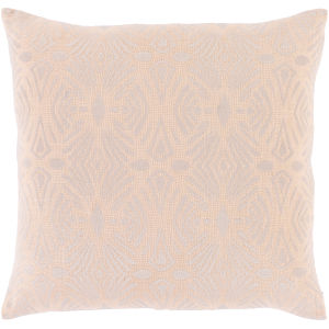 Accra Peach 18-Inch Throw Pillow