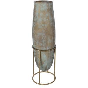 Meena Green 18-Inch Vase