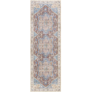 Amelie Burnt Orange Runner 2 Ft. 7 In. x 7 Ft. 10 In. Rugs