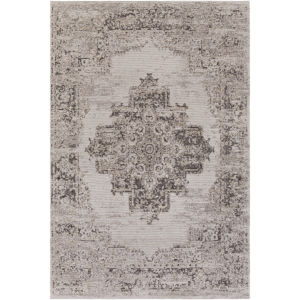 Amsterdam Taupe and Beige Rectangular: 2 Ft. x 3 Ft. Rug