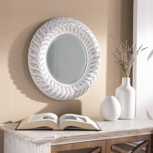 Tanu White Wall Mirror