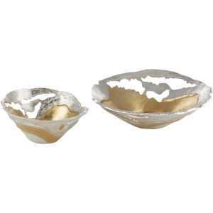 Ambrosia Gold Bowl, Set Of 2