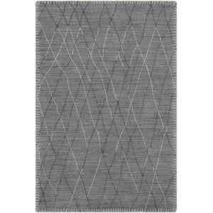Arlequin Medium Gray Rectangle 4 Ft. x 6 Ft. Rugs