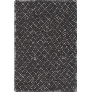 Arlequin Black Rectangle 2 Ft. x 3 Ft. Rugs
