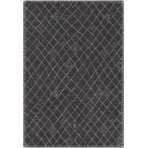 Arlequin Black Rectangle 8 Ft. x 10 Ft. Rugs