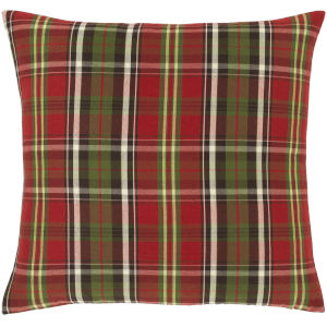 Allison Cherry and Green 18-Inch Throw Pillow
