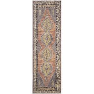 Antiquity Blush Runner 2 Ft. 7 In. x 10 Ft. Machine Woven Rug