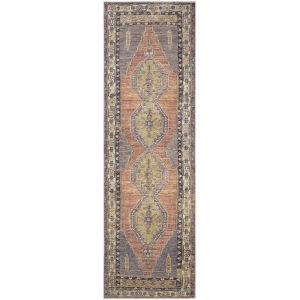 Antiquity Blush Runner 2 Ft. 7 In. x 7 Ft. 3 In. Machine Woven Rug