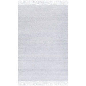 Azalea Silver Gray and Light Gray Rectangular: 5 Ft. x 7 Ft. 6 In. Rug