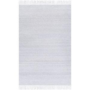 Azalea Silver Gray and Light Gray Rectangular: 8 Ft. x 10 Ft. Rug