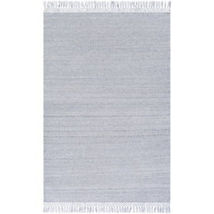 Azalea Light Gray and Medium Gray Runner: 2 Ft. 6 In. x 8 Ft.  Rug