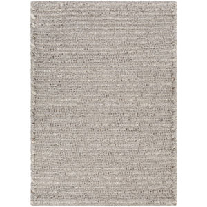 Azalea Medium Gray and Charcoal Rectangular: 5 Ft. x 7 Ft. 6 In. Rug