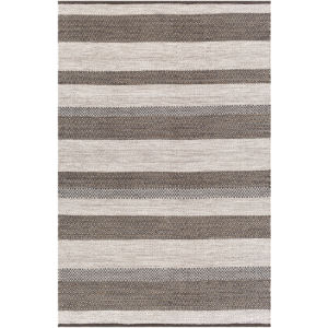 Azalea Cream and Taupe Rectangular: 5 Ft. x 7 Ft. 6 In. Rug