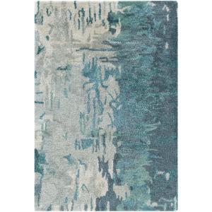 Banshee Blue Square: 8 Ft. x 8 Ft. Rug