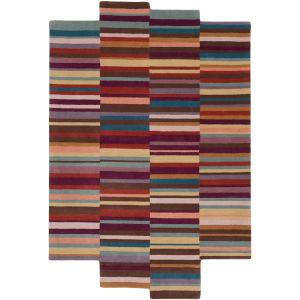 Beck Burgundy Rectangular: 8 Ft. X 10 Ft. Rug
