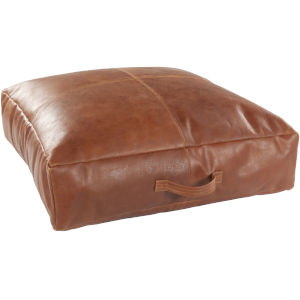 Barrington Camel 24-Inch Floor Pillow