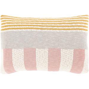 Brickel Multi-Color 16-Inch Throw Pillow