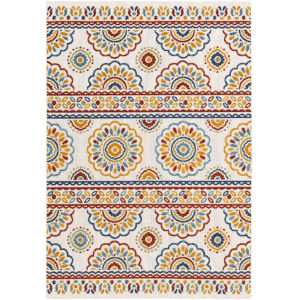 Big Sur Multi-Color Rectangle 5 Ft. 3 In. x 7 Ft. 3 In. Rugs