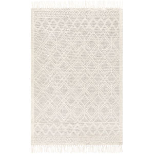 Casa Decampo Black Rectangle 5 Ft. x 7 Ft. 6 In. Rugs
