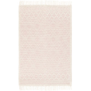 Casa Decampo Bright Pink Rectangle 5 Ft. x 7 Ft. 6 In. Rugs