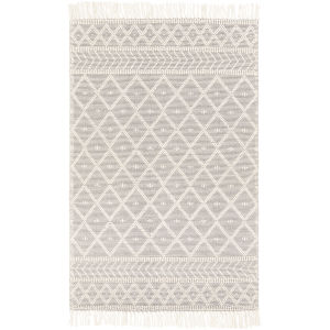 Casa Decampo Medium Gray Rectangle 2 Ft. 3 In. x 3 Ft. 9 In. Rugs