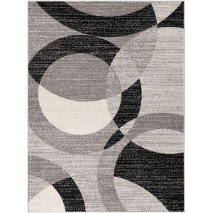Chester Black Rectangle 6 Ft. 7 In. x 9 Ft. Rugs