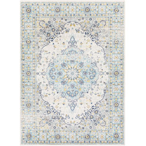 Chester Aqua Rectangle 6 Ft. 7 In. x 9 Ft. Rugs