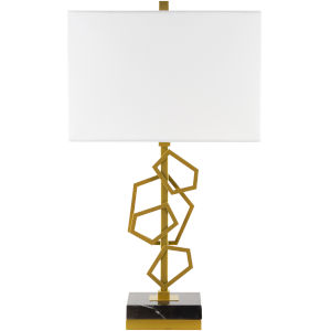 Cosworth Gold One-Light Table Lamp