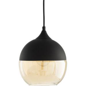 Dean Black 8-Inch One-Light Pendant