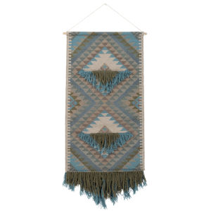 Adia Sky Blue Wall Hanging