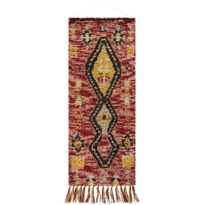 Dirham Dark Red Wall Hanging
