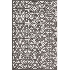 Dantel Taupe Rectangle 6 Ft. 7 In. x 9 Ft. Rugs