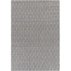 Eagean Gray Rectangular: 7 Ft. 10 In. x 10 Ft. 2 In. Indoor-Outdoor Rug