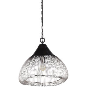 Eames Black One-Light Pendant