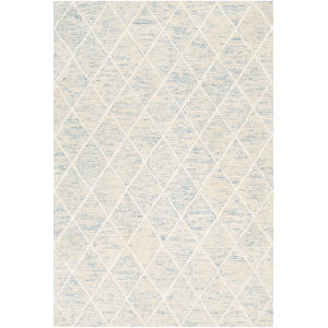Eaton Ice Blue Rectangle 4 Ft. x 6 Ft. Rugs